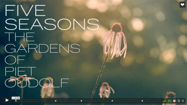 Five Seasons The Gardens of Piet Oudolf film still